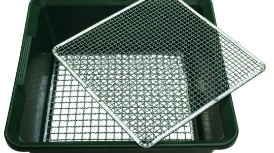ACD Zeef met 2 verwisselbare netten