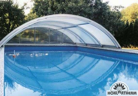 Zwembadoverkapping Hoklartherm